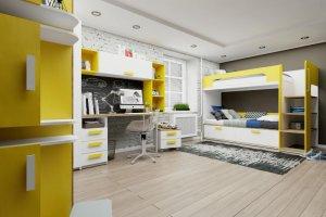 Детская Junior Солнечный свет - Мебельная фабрика «Клюква»