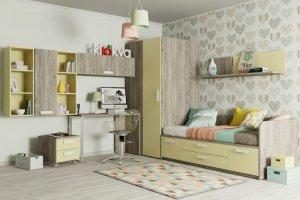 Детская Junior Сорбет - Мебельная фабрика «Клюква»