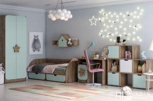 Детская Колибри 2 - Мебельная фабрика «РАУС»