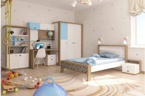 Детская комната MIX 2х цветов - Мебельная фабрика «ABC King»