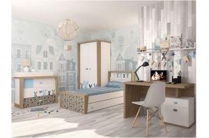 Детская комната MIX Bunny blue - Мебельная фабрика «ABC King»