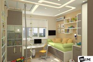 детская комната с гнутыми элементами - Мебельная фабрика «ARLINE»