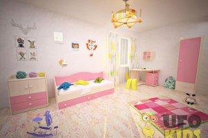 Детская  Комната UFOkids Classic Эльфи - Мебельная фабрика «UFOkids»