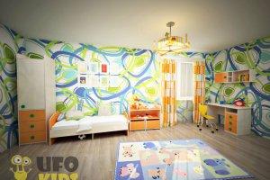 Детская  Комната UFOkids Classic Флайя - Мебельная фабрика «UFOkids»