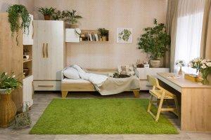Детская комната в экостиле Риган - Мебельная фабрика «38 попугаев»