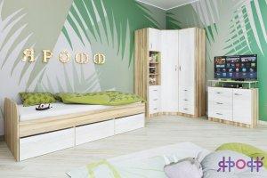 Детская комната ясень белый - Мебельная фабрика «ЯРОФФ»