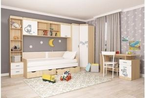 Детская Кот - Мебельная фабрика «Аквилон»
