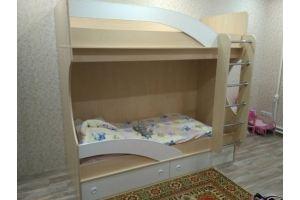 Детская кровать 18 49 - Мебельная фабрика «Святогор Мебель»