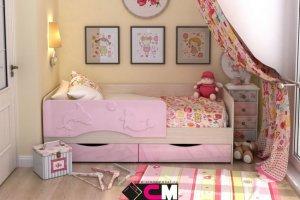 Детская кровать Алиса - Мебельная фабрика «Стендмебель»