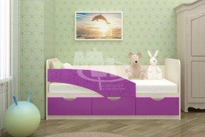 Детская кровать Бабочки 1,6 - Мебельная фабрика «МиФ», г. Пенза