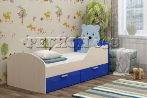 Детская кровать Бемби-5 МДФ с фотопечатью - Мебельная фабрика «Регион 058»