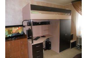 Детская кровать-чердак 15-48 - Мебельная фабрика «Святогор Мебель»