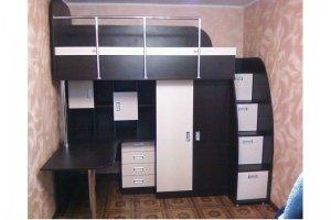 Детская кровать-чердак 15 96 - Мебельная фабрика «Святогор Мебель»