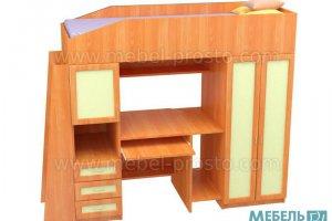 Детская кровать- Чердак - Мебельная фабрика «МЕБЕЛЬ ПРОСТО»
