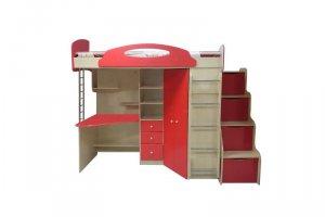 Детская кровать-чердак Капитошка - Мебельная фабрика «Даурия»