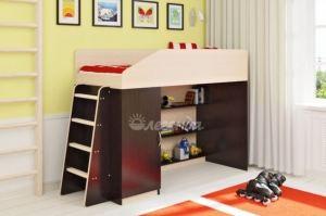 Детская кровать чердак Легенда 11.1 - Мебельная фабрика «Легенда»