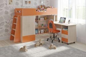 Детская кровать чердак Легенда 3.13 - Мебельная фабрика «Легенда»