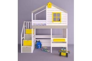 Детская кровать-чердак Микки - Мебельная фабрика «RuLes»