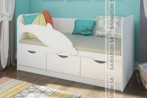 Детская кровать Дельфин №3 - Мебельная фабрика «Вавилон58»