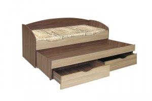 Детская кровать Твинс для двоих с ящиками - Мебельная фабрика «Даурия»