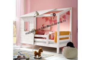 Детская Кровать-домик 1 - Мебельная фабрика «Дубрава»