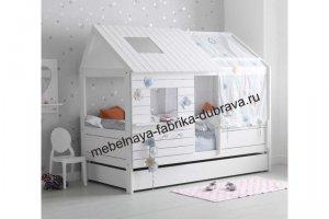 Детская Кровать-домик 2 - Мебельная фабрика «Дубрава»