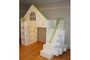Детская кровать-домик - Мебельная фабрика «Лига»