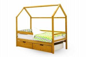 Детская кровать-домик Svogen дерево - Мебельная фабрика «Бельмарко»