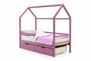 Детская кровать-домик Svogen лаванда - Мебельная фабрика «Бельмарко»
