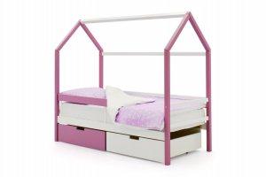 Детская кровать-домик Svogen лаванда-белый - Мебельная фабрика «Бельмарко»