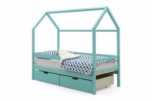 Детская кровать-домик Svogen мятный - Мебельная фабрика «Бельмарко»