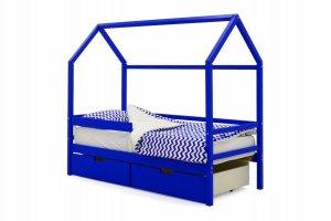 Детская кровать-домик Svogen синий - Мебельная фабрика «Бельмарко»