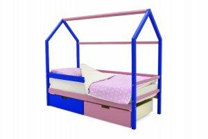 Детская кровать-домик Svogen синий-лаванда - Мебельная фабрика «Бельмарко»
