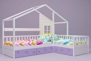 Детская кровать-домик Дейзи - Мебельная фабрика «RuLes»