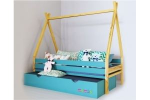 Детская кровать-домик Дом вождя - Мебельная фабрика «Mamka»