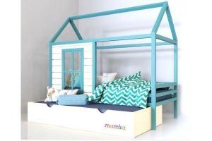 Детская кровать-домик Дом звездочета - Мебельная фабрика «Mamka»