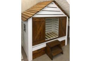 Детская кровать-домик из массива - Мебельная фабрика «Массив»