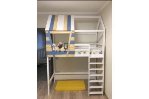 Детская кровать-домик Кантри - Мебельная фабрика «ВЭФ»