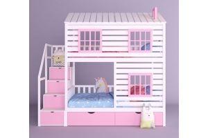 Детская кровать-домик Конфетти-2 - Мебельная фабрика «RuLes»