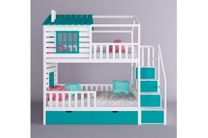 Детская кровать-домик Конфетти - Мебельная фабрика «RuLes»