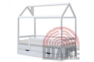 Детская кровать-домик Ненси - Мебельная фабрика «ВМК-Шале»