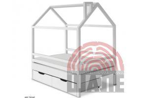 Детская кровать-домик Пеппи - Мебельная фабрика «ВМК-Шале»