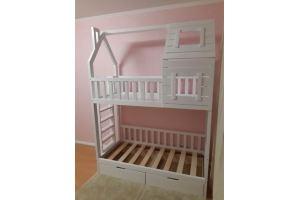 Детская кровать-домик Полли - Мебельная фабрика «ВЭФ»