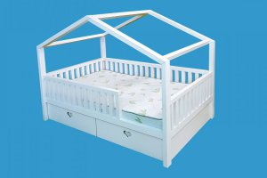 Детская кровать-домик Рози - Мебельная фабрика «ВЭФ»