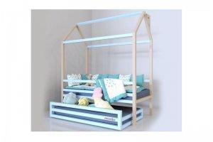 Детская кровать-домик Скандинавия с выдвижным ящиком - Мебельная фабрика «Mamka»