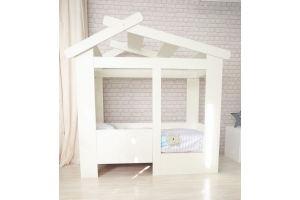 Детская кровать-домик Теремок - Мебельная фабрика «Лилель»