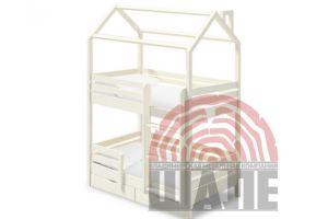 Детская кровать-домик Твинкл - Мебельная фабрика «ВМК-Шале»
