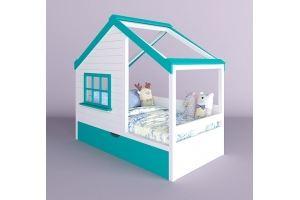 Детская кровать-домик Жасмин - Мебельная фабрика «RuLes»