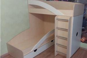 Детская кровать двухъярусная 15 157 - Мебельная фабрика «Святогор Мебель»