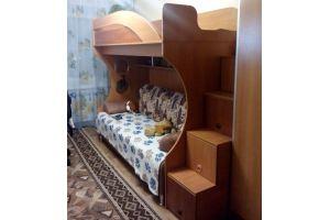 Детская кровать двухъярусная 17 124 - Мебельная фабрика «Святогор Мебель»